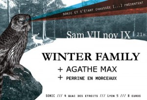 Winter Family + Agathe Max @Sonic_07 11 2009_flyer_002